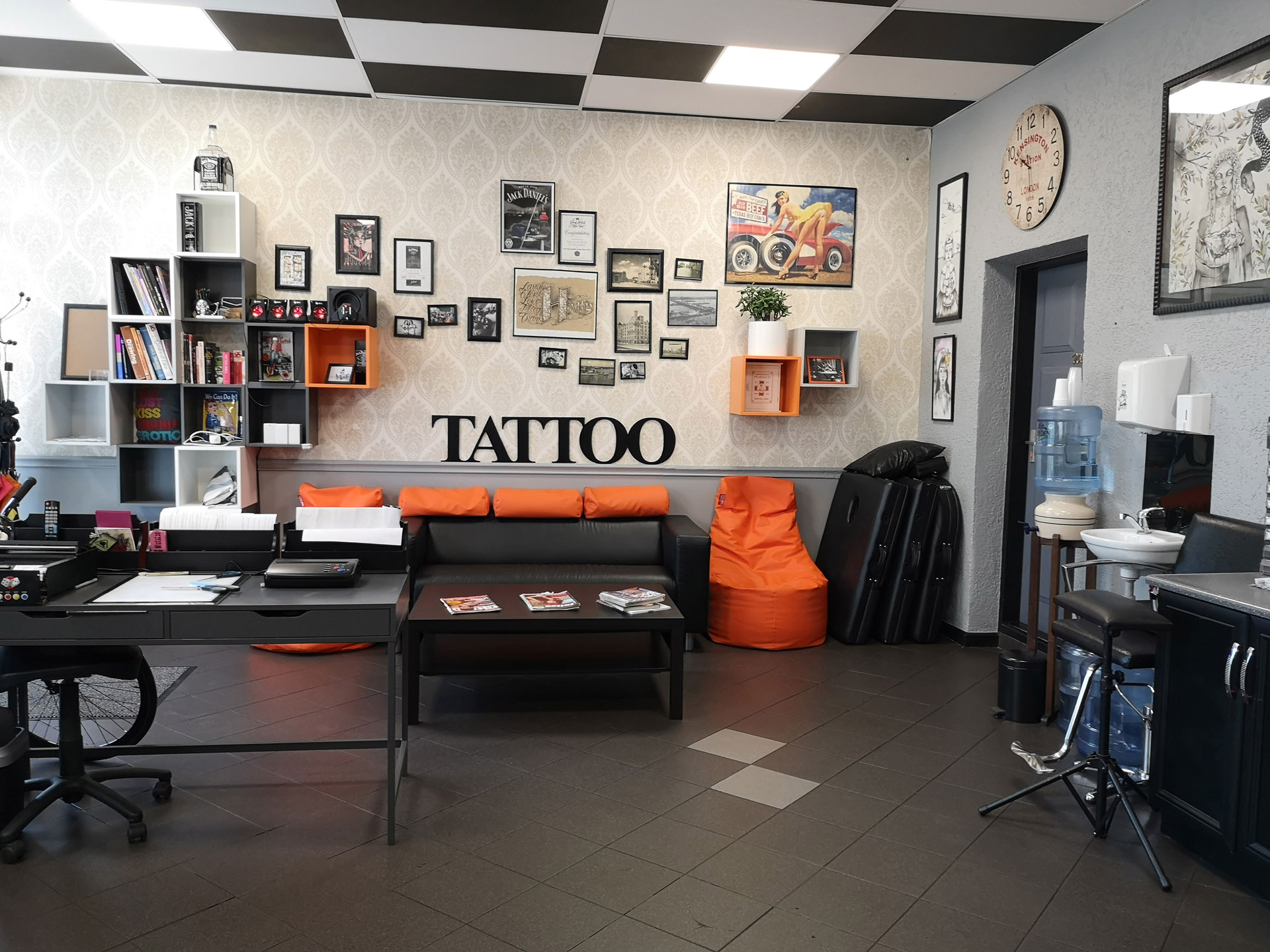 Tattoo studio in Riga - Collective Art & Tattoo Studio