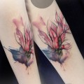 by Sabine / Tattoo artist / Color tattoos