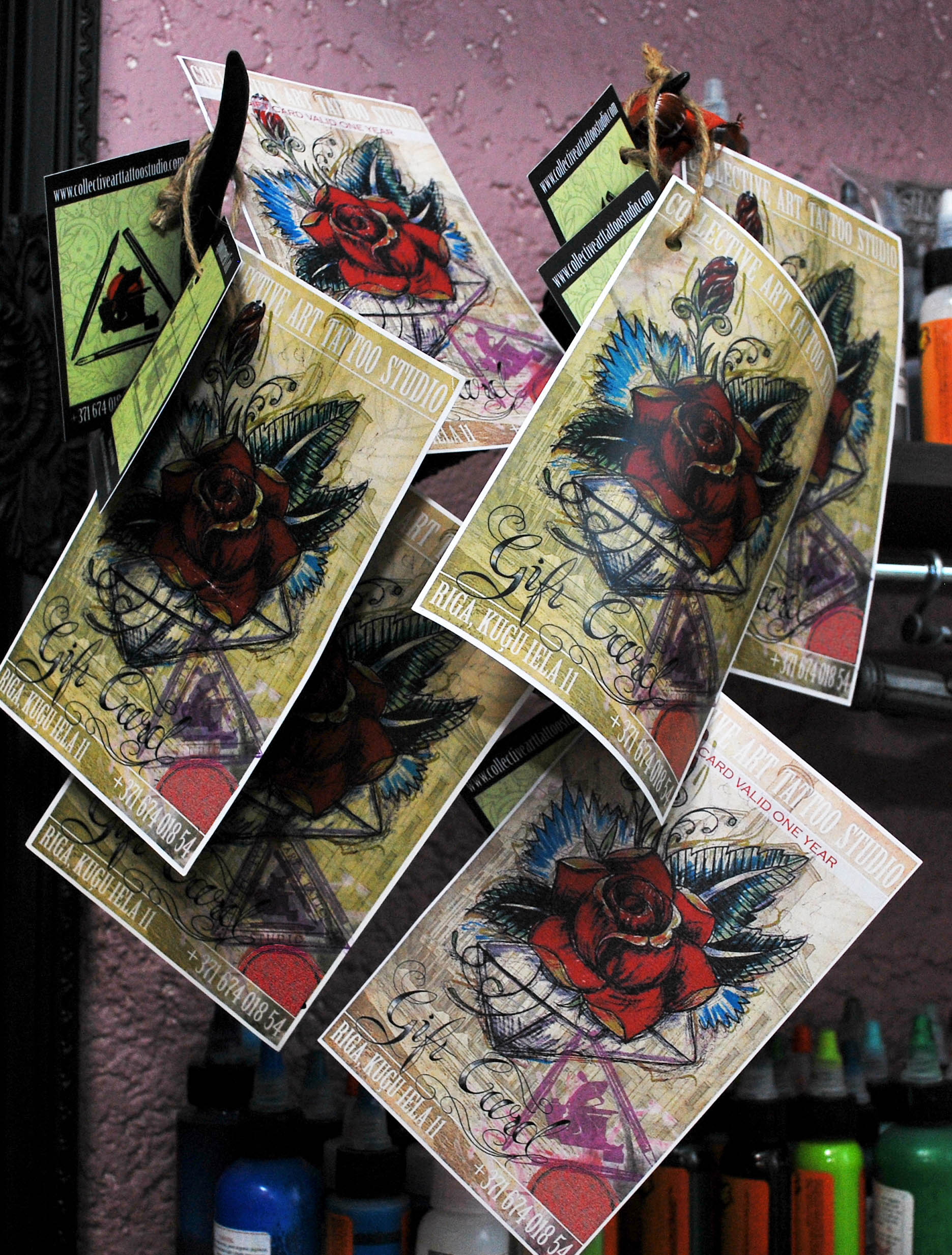 tattoo gift card